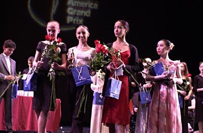 Award ceremony post-gala