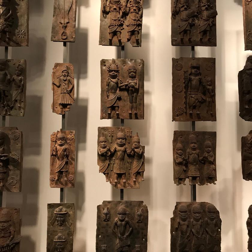 Studying the Benin art