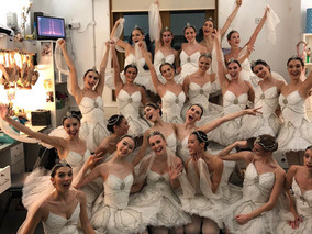 'Bem-vinda ao Royal Ballet!'