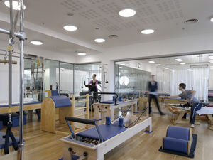 Pilates/gyro studio