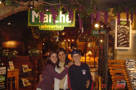 Family visit Toronto 2005