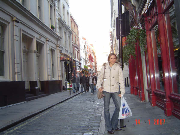 Floral street, London