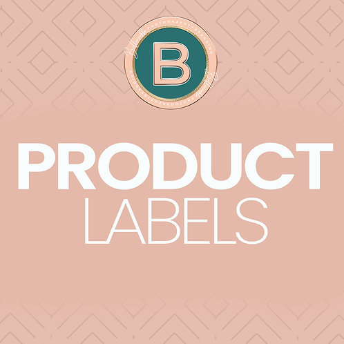 Product Labels (print)