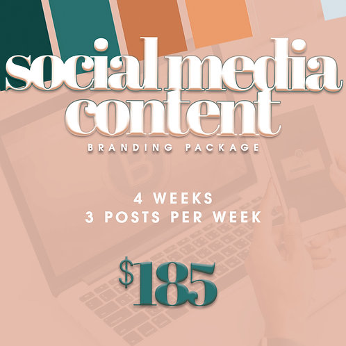 Social Media Content Package