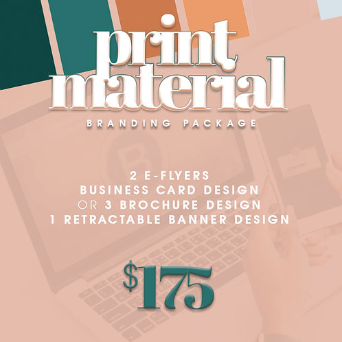 Print Material Package