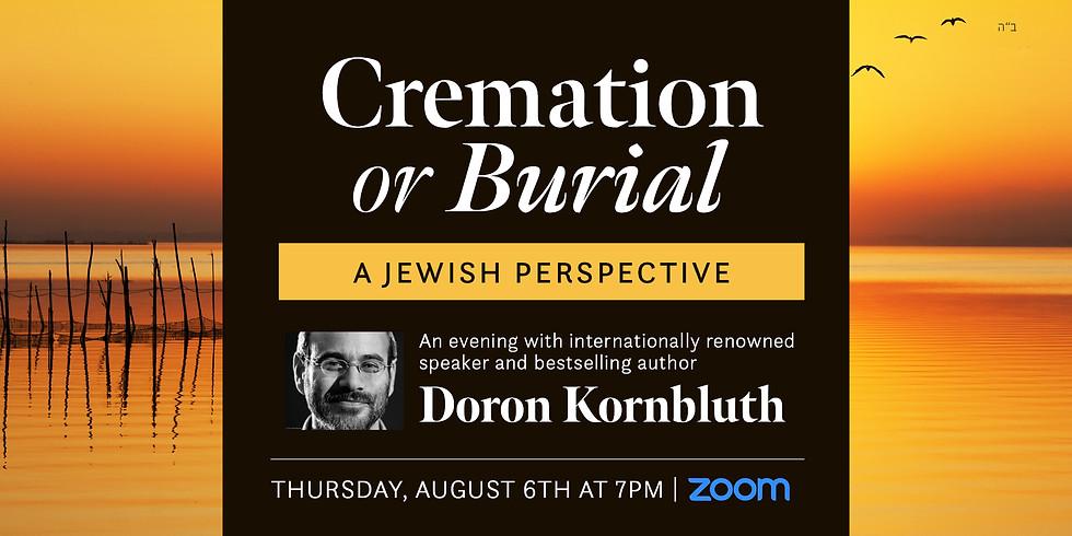 Why Burial with Author Doron Kornbluth