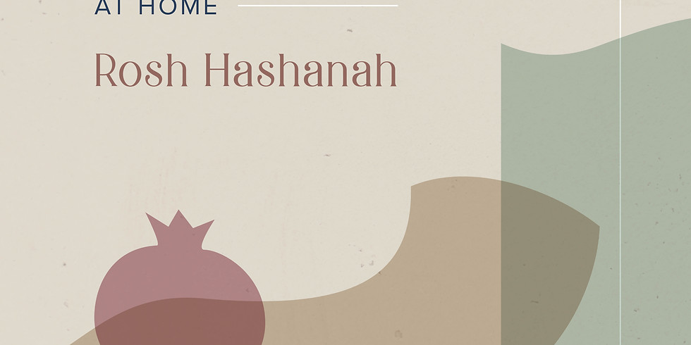 Make it a Meaningful Rosh Hashanah at Home