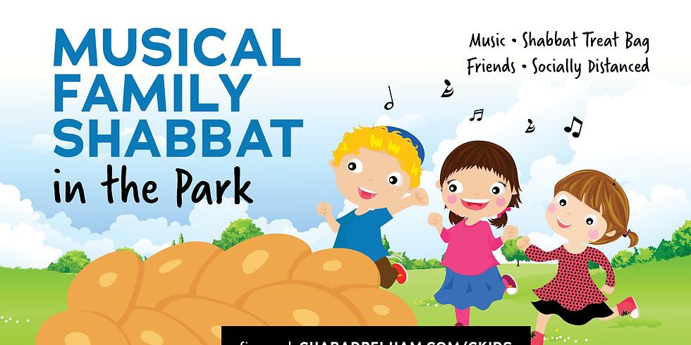 Musical Family Shabbat In The Park