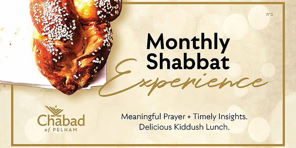 Shabbat Service & Kiddush