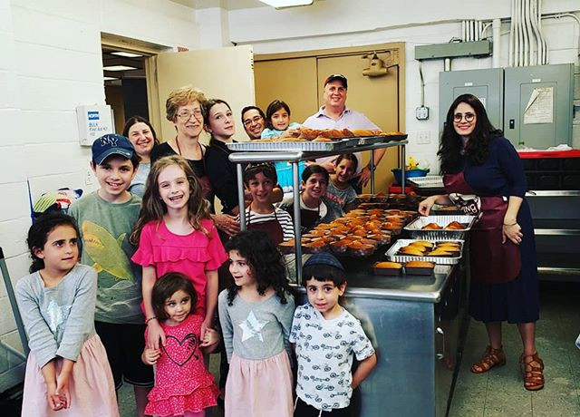 Getting into the Rosh Hashanah spirit at