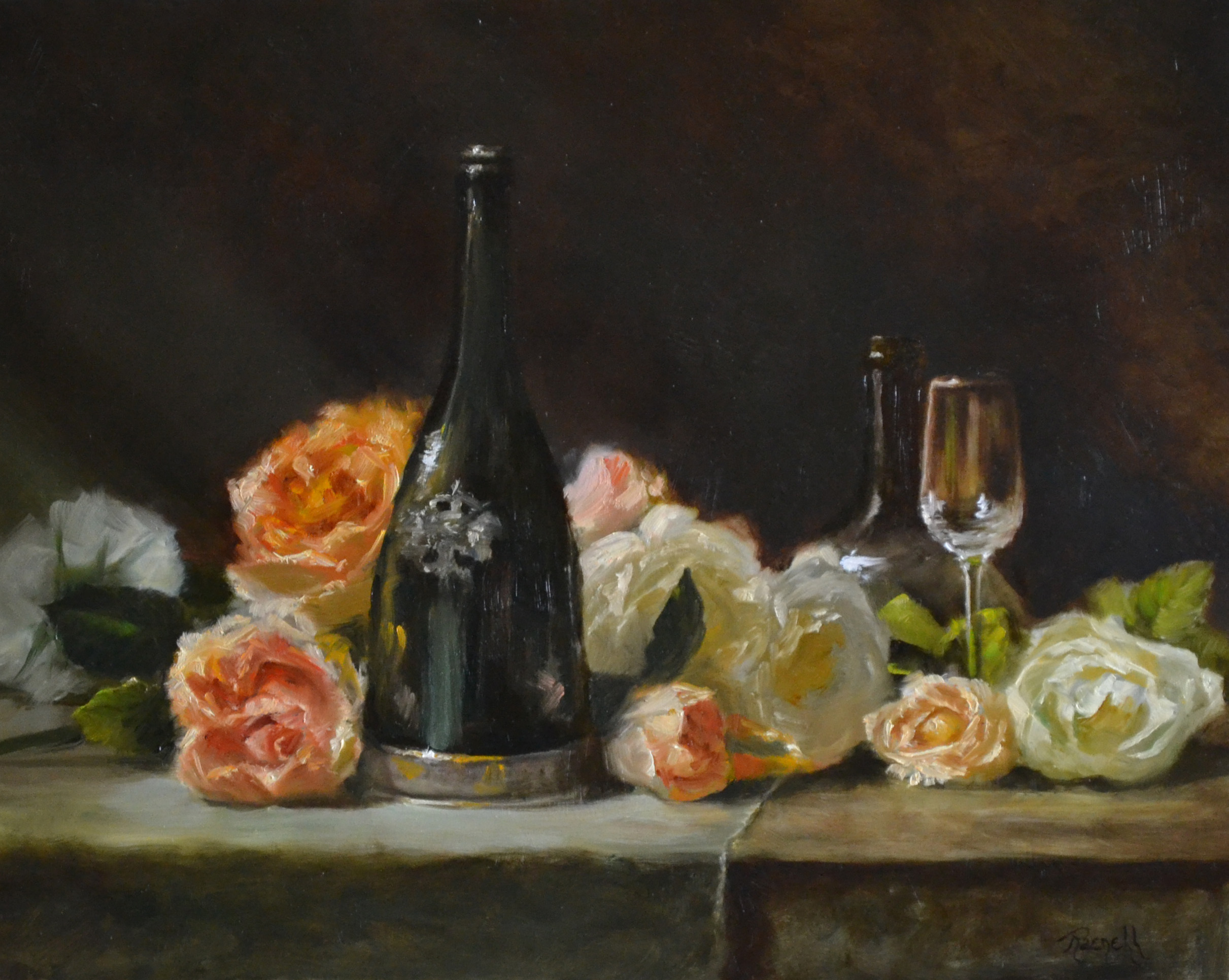 Wine and Roses 16x20