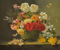 Flower Medley 20x24