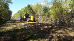 Trail prep work - Pembroke