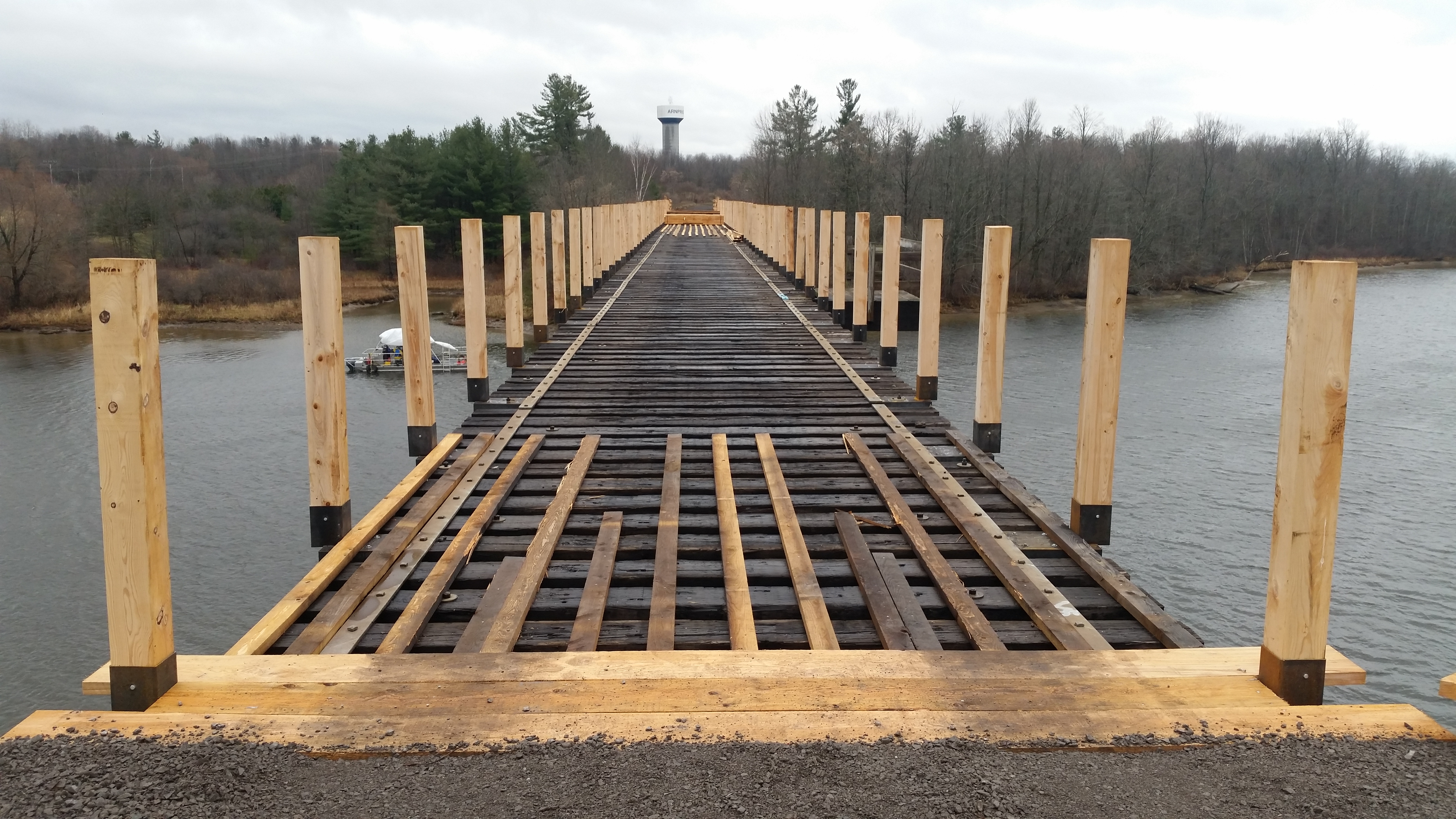 Arnprior Bridge under construction