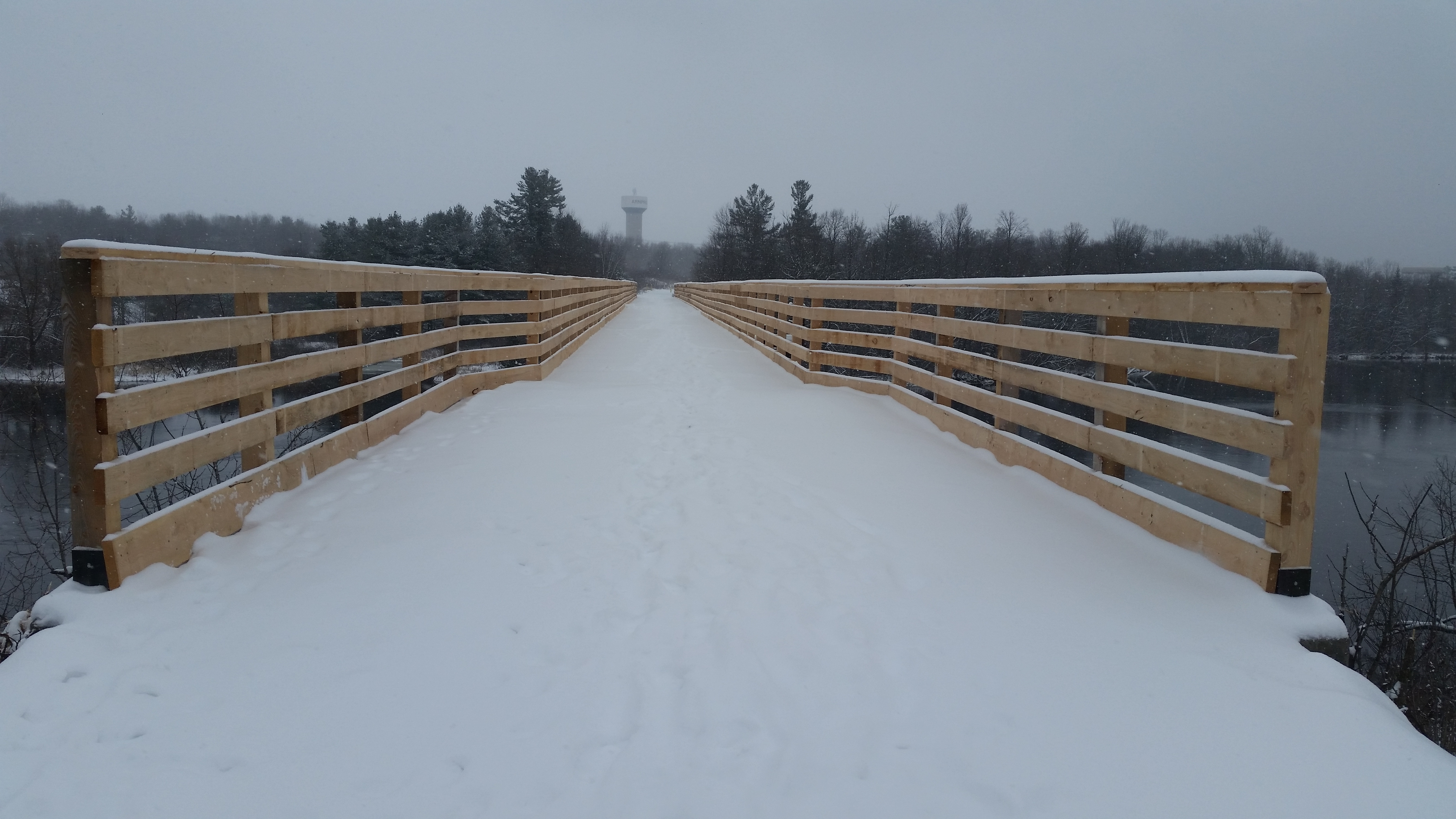 Arnprior bridge over the mighty Madawaska River