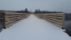 Arnprior bridge over the mighty Madawaska River