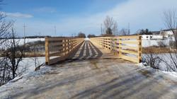 Arnprior bridge over the Madawaska River