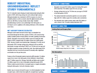 NKF 3Q19 National Industrial Market Report