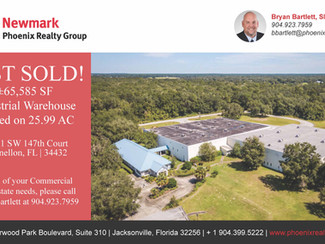 JUST SOLD- ±65,585 SF: 11611 SW 147th Court
