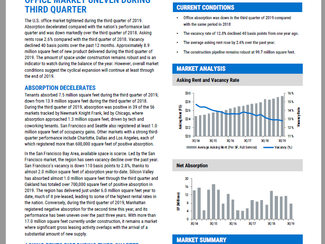 NKF 3Q19 National Office Market Report