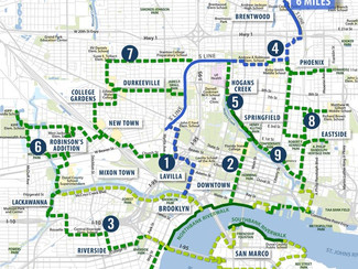 Groundwork Jacksonville design to link downtown, Northside trails with S Line 'Connector'