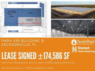 Park 295 Building B Just Leased- ±174,586 SF