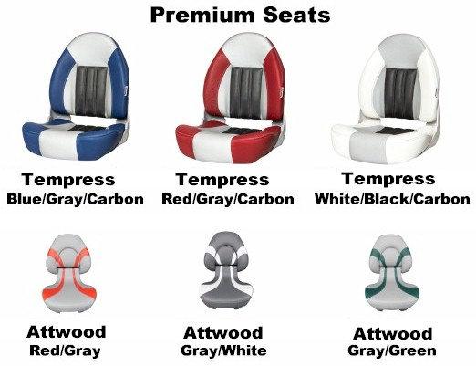 Premium Seats w/ Pedestal & Base