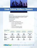 green solvent, wellbore cleaner