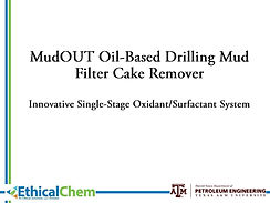 MudOut, filter cake removal
