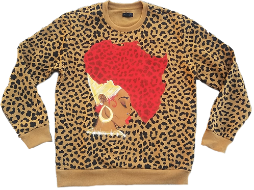 Earth Motherland Leopard Sweatshirt