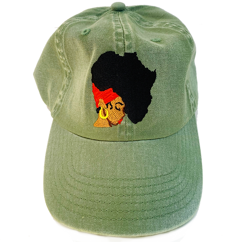 Olive Earth Motherland Hat