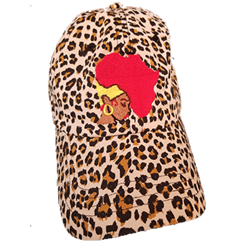 Cheetah Earth Motherland Hat