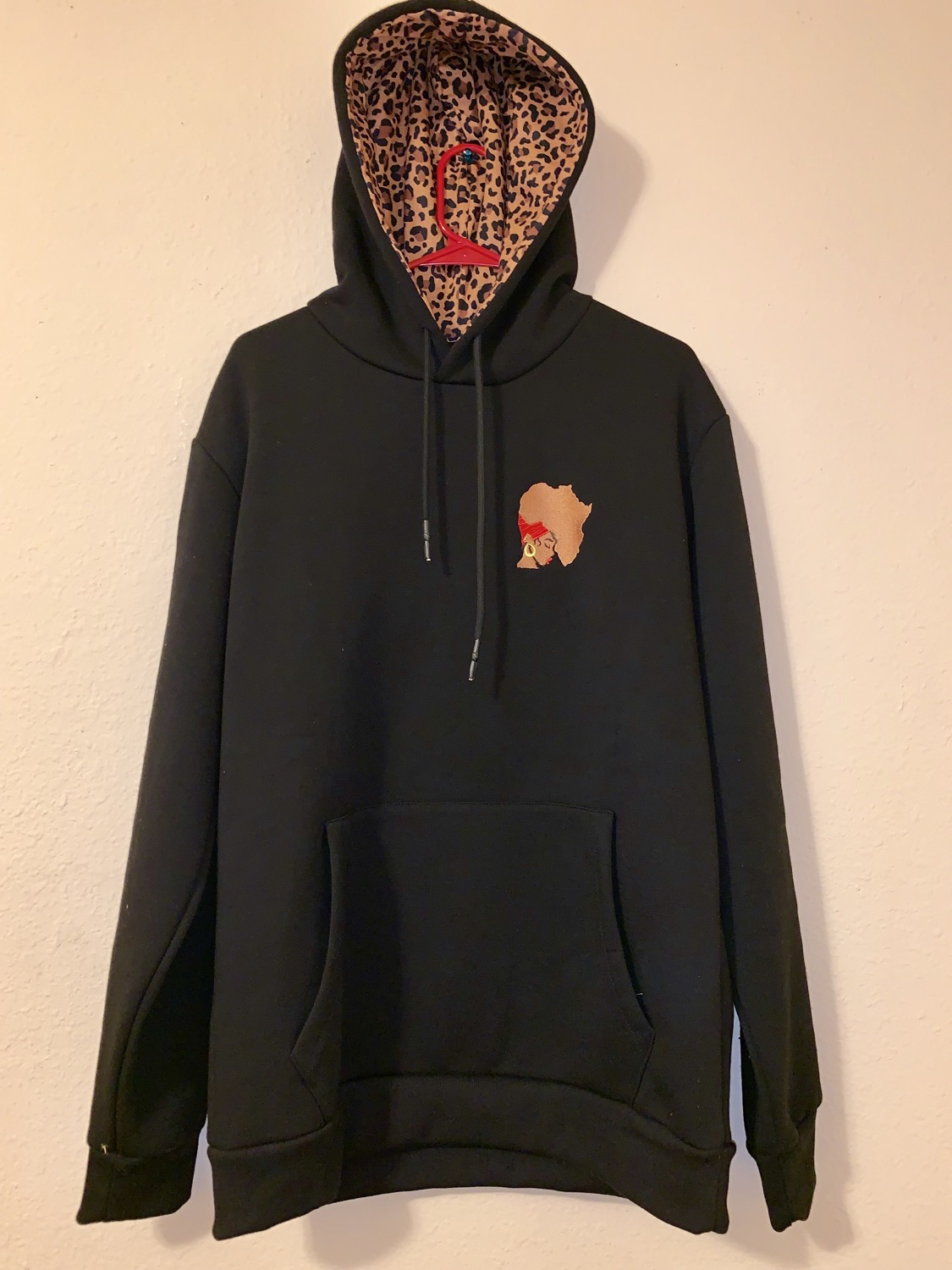 Earth Motherland Leaopard Lined Hoodie