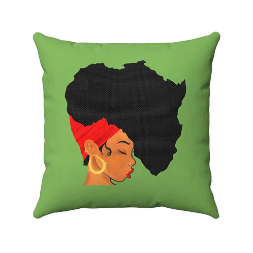 Earth Motherland Polyester Square Pillow