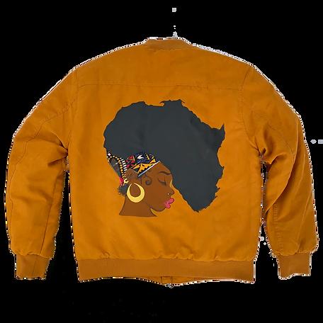 Honey Mustard Bomber Jacket