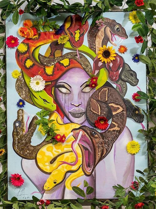 Original S......sssSedusa Painting