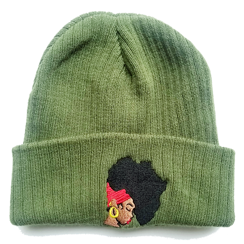 Olive Earth Motherland Beanie