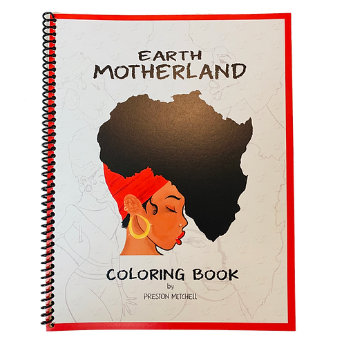 Earth Motherland Coloring Book