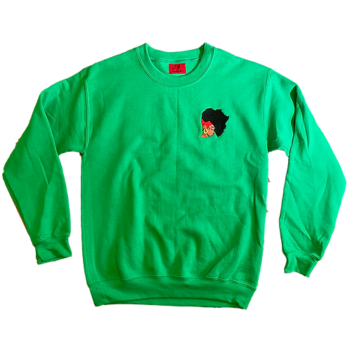 Earth Motherland Patch Sweater