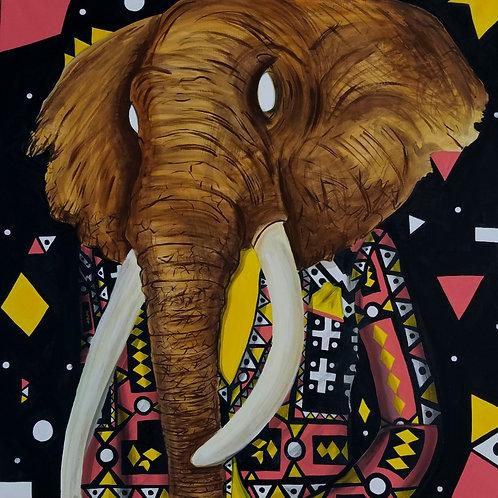 Original Elephant's Room Painting