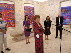 Vernissage de l'exposition au Musée d'Herzégovine à Trebinje