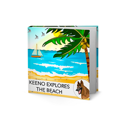 BOOK: Keeno Explores the Beach
