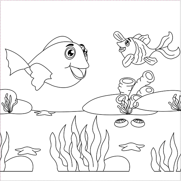 BEACH - fish to colour.png