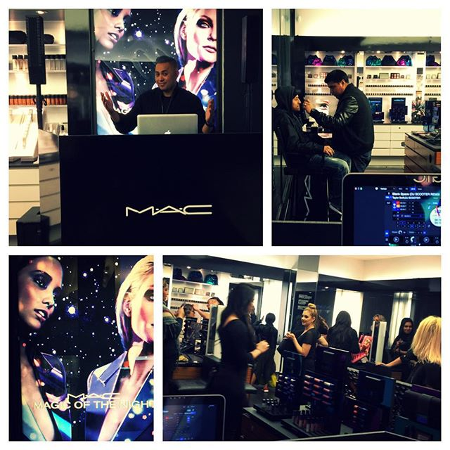 MAC In Store Event