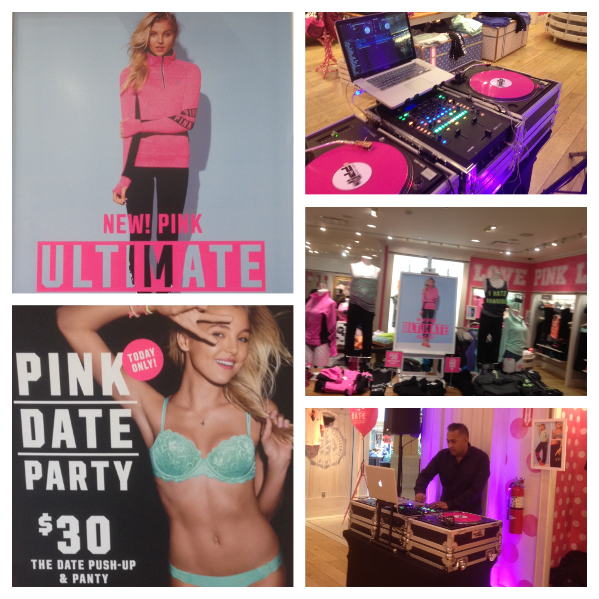 VS Pink In-Store