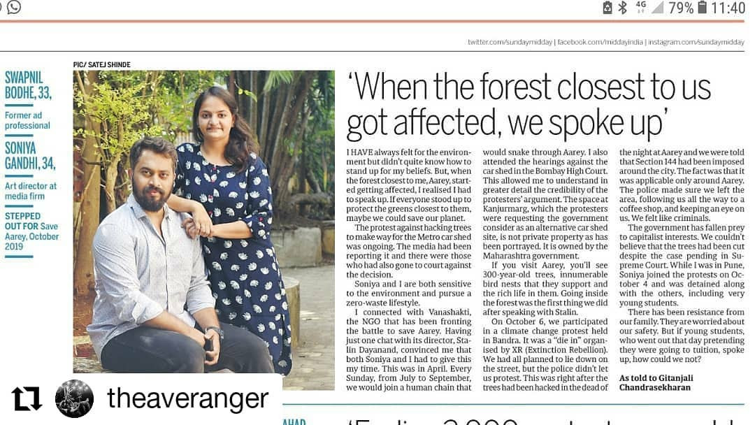 Its NOT OKAY when you see things falling apart and you don't do anything about it.  Thank you #midday for covering the protest of 2019, where people stood up to demand what is right and needed for the balance to be maintained.  Look after your local forest and together we can safeguard the forest across the globe.