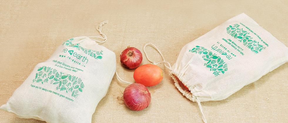 Fridge and Veggie Bag