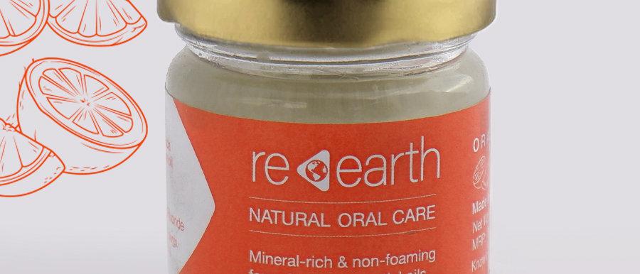Orange Tooth Paste