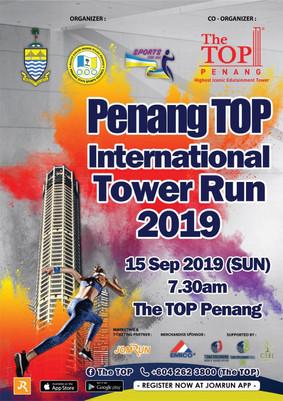 Penang Top International Tower Run 2019