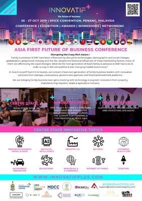 Asia Innovatif + Summit & Awards 2019